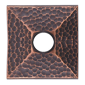 Hammered Rosette for the Arts & Crafts Collection by Emtek