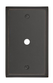 Cable Colonial Switch Plate - Brass Collection by Emtek