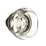 Georgetown Knob for the Crystal Collection by Emtek