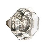 Clear Old Town Knob for the Crystal Collection by Emtek