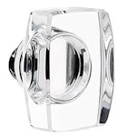 Windsor Knob for the Crystal Collection by Emtek
