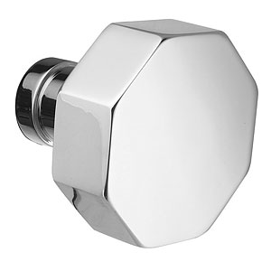 Octagon Knob for the Modern Collection by Emtek