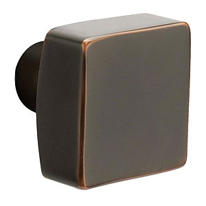Square Knob for the Modern Collection by Emtek