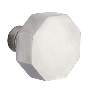 Octagon Knob for the Stainless Steel Collection by Emtek