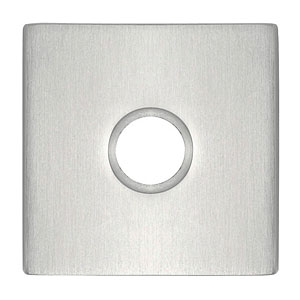 Square Rosette for the Stainless Steel Collection by Emtek